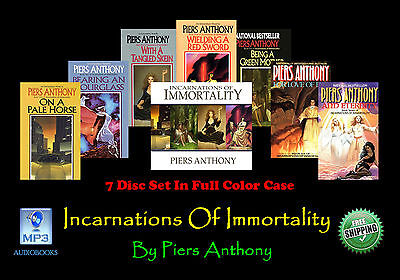 The INCARNATIONS OF IMMORTALITY ~ By Piers Anthony ~ MP3 CD 7 CD Set~ UNABRIDGED