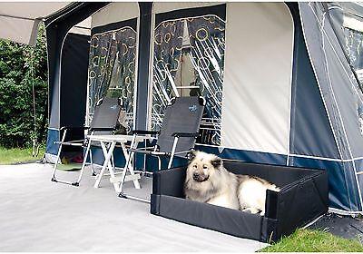 FLEXPROTECTBOX robuste Kofferraum-Hunde-Box mit Stoßstangenschutz Gr. XL