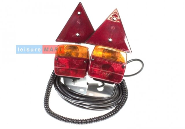 6 ft wide 6 meters long magnetic trailer lighting unit with triangles LMX638