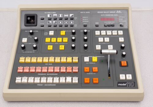 Grass Valley Model 110 Control Panel