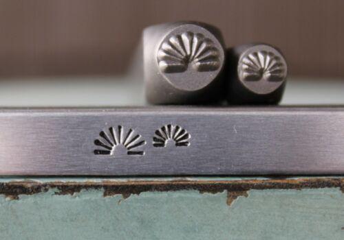 SUPPLY GUY 5mm/7mm Southwest Sunray Metal Punch Design 2 Stamp Set SGCH-454455