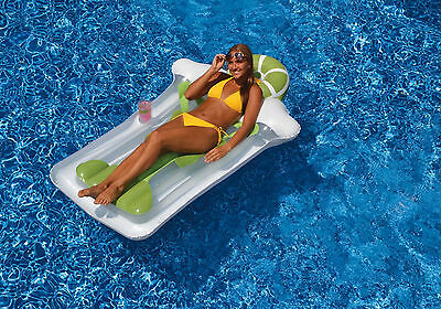Swimline 90653 Giant 75  Inflatable Margarita Mattress For Swimming Pool Float