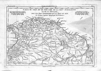 Antique maps, Carte du nouvelle royaume de Grenade de la nouvelle Andalouise