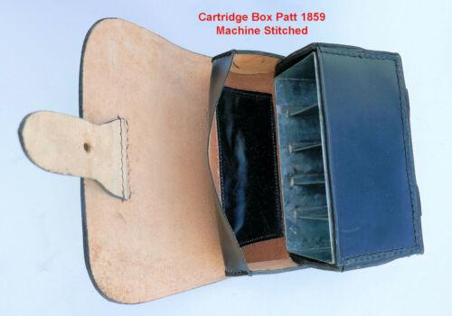 Cartridge Box (Pouch) pattern 1859 w/Shoulder Belt, Rank & File, Infantry,