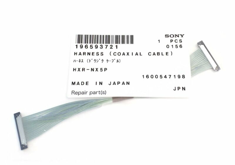 SONY HDR-AX2000 AX2000 Cable Harness Part Replacement 196593721 Genuine Sony