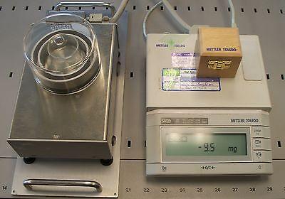 Mettler Toledo Balance Scale Kit Tecan Gravimetric Calibration Qc Analytical Lab