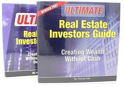 The Ultimate Real Estate Investors Guide Thomas Kish 5 Cds Manual   Workbook New