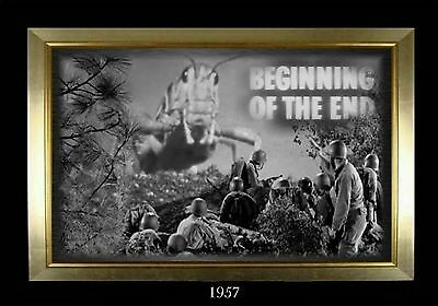 MAGNET  Movie Monster Photo Magnet BEGINNING OF THE END 1957 Giant Grasshoppers