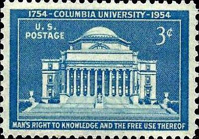 Memories Photo Magnet - MAGNET US Postage PHOTO MAGNET Low Memorial Library Columbia University 1937