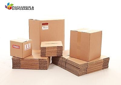15 x Small Packaging Double Wall Cardboard boxes 7 x 7 x 7