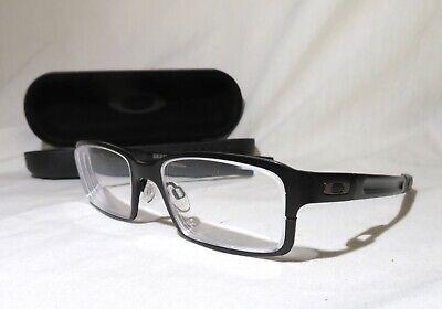 Oakley Deringer OX5066-0152 metal eyeglass frames prescription 53-15-139 w/case