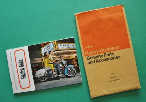 Original 1967 Harley Electra Glide FL FLH Rider Hand Book Owners Manual