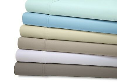 (6 Piece Set 1800 Series Organic Bamboo Best Quality Soft Deep Pocket Bed Sheets)