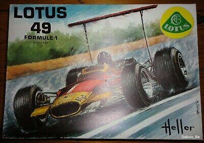 HELLER 1/24 Lotus 49 L 756