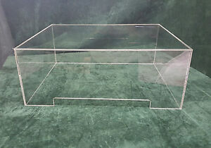 Clear Acrylic Turntable Dust Cover Vinyl Case Michell Orb 520mm x 430mm x 205mm