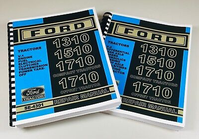 Ford 1310 1510 1710 Compact 1710 Offset Tractor Service Repair Manual Se-4301