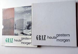 GRAZ-GESTERN-HEUTE-MORGEN-1967-custodia-editoriale-lingua-tedesca