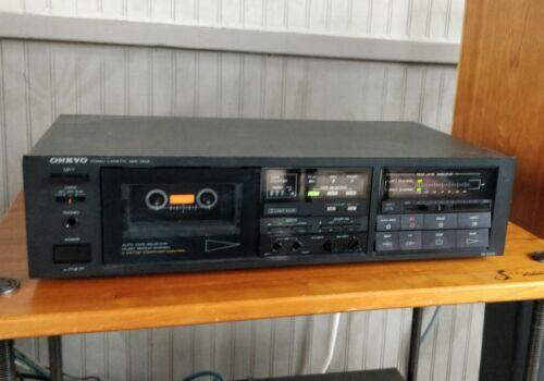 Onkyo Integra TA-2028 cassette deck 2-head - Restored, works Excellent!