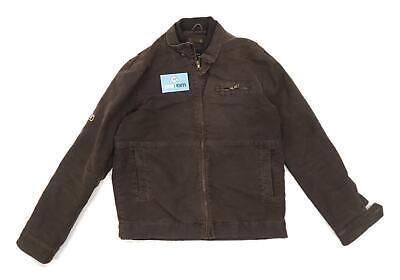 Burton Mens Size M Denim Brown Jacket