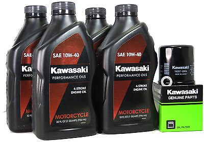2007 KAWASAKI NINJA ZX-6R OIL CHANGE KIT
