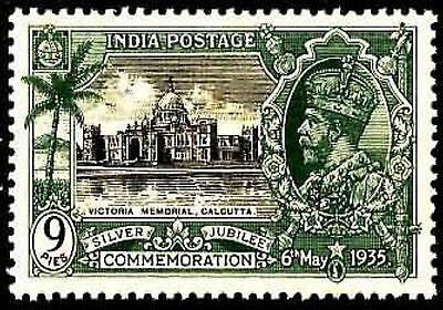 Memories Photo Magnet -  PHOTO MAGNET  INDIA 1935 Victoria Memorial Calcutta King George V