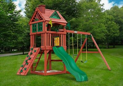 Best Selling Gorilla Playset Nantucket Cedar Wood Swing Set Kids (Best Kids Swing Set)