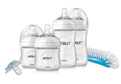 AVENT Natural Newborn Starter Set  Kit SCD290 Anti colic BPA Free BRAND NEW 0-3m