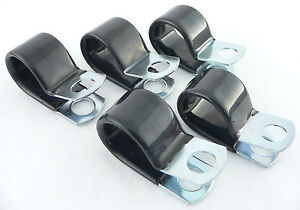 5-Vinyl-Coated-Clamps-For-4-AN-Fuel-Line-PER-2906
