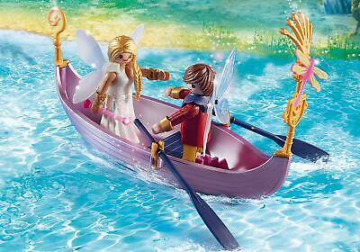 Playmobil 70000 Fairies Romantic Fairy Boat with Dolphines