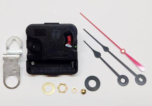 "Takane Clock Movement Quartz Battery NEW Long Shaft 3/4"" Thick Dial SPADE HANDS"