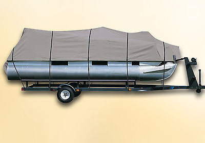 DELUXE PONTOON BOAT COVER JC Manufacturing SunLounger 23 TT Sport