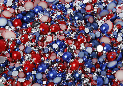 15g Stars and Stripes mixed pearls