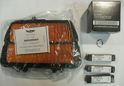 TRIUMPH TIGER 800  800 XC SERVICE KIT WITH FILTERS AND GENUINE PARTS