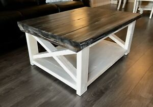 Coffee table with matching tables.