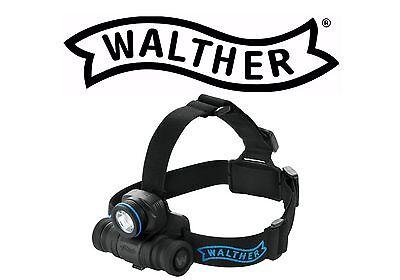 WALTHER Spezialangebot PRO HL11 Stirnlampe Kopflampe 205 Lumen + Batterien