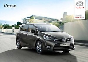 Toyota Verso 01 / 2017 catalogue brochure 72 p. - <span itemprop='availableAtOrFrom'> Varsovie, Polska</span> - Toyota Verso 01 / 2017 catalogue brochure 72 p. -  Varsovie, Polska