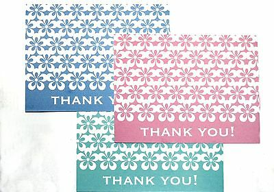 - 6 BEAUTIFUL QUALITY 'PAPER LACE' MOTIF BLANK CORRESPONDENCE THANK YOU NOTE CARDS