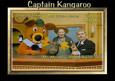 - MAGNET  Television Captain Kangaroo  1960s Green Jeans Dancing Bear Bunny  Moose