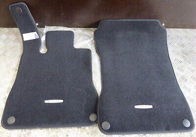 Mercedes-Benz Fußmatten Velours Matte schwarz SL R231 A2316800048