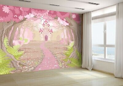 Magic Fairy Tale Princess Castle Wallpaper Mural Photo 28068396 budget paper (Budget Fairy Tale)