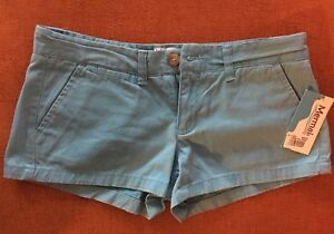 Baby blue ladies twill short new with tag