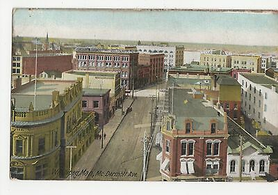 Canada, Winnipeg, Man., McDermott Ave Postcard, A490
