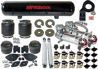 2005-10 Chrysler 300 Air Suspension Lowering Kit 480 Chrome Compressors 7 Switch
