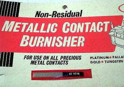 Gc Metallic Burnishing Tool New Nos For Precious Metal Contacts