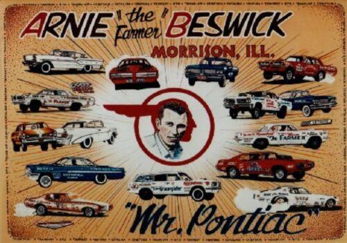 MAGNET Advertising Photo Magnet ARNIE the Farmer BESWICK Mr Pontiac Morrison