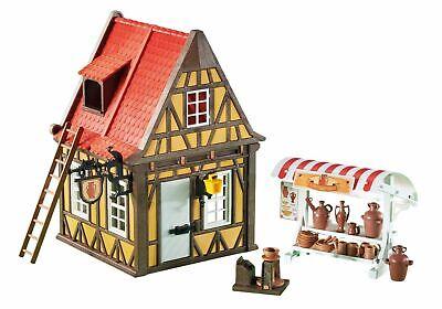 Playmobil Alfareria torno Medieval casa amarilla ref 6524