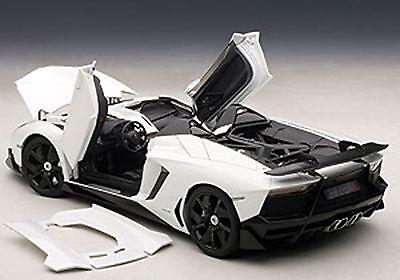 autoart lamborghini aventador j white in 118 scale new release in stock