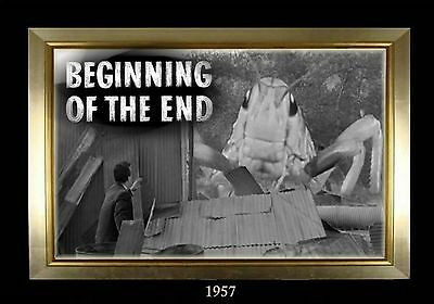 MAGNET  Movie Monster Photo Magnet BEGINNING of the END 1957