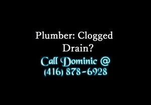PLUMBER GREAT RATES FAST SERVICE