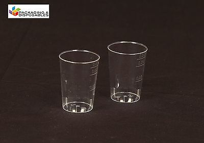 40 x 50ml Party Vodka Jelly Disposable Plastic Shot Glasses